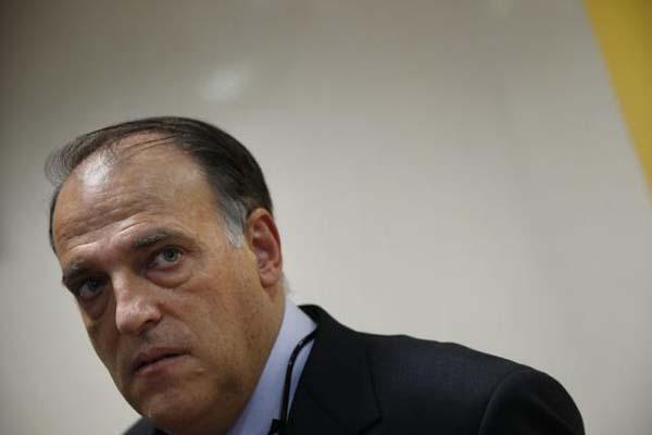 Presiden La Liga Javier Tebas/Reuters - Susana Vera