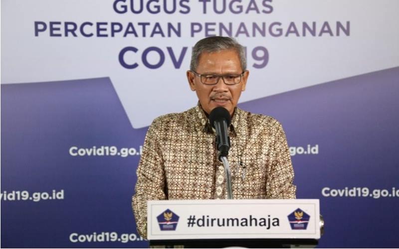 Juru Bicara Pemerintah untuk Covid-19 Achmad Yurianto. JIBI - Bisnis/Nancy Junita