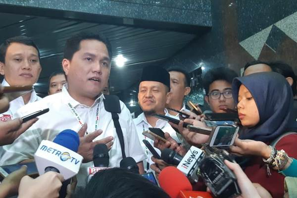 Erick Thohir - Bisnis/M. Ridwan