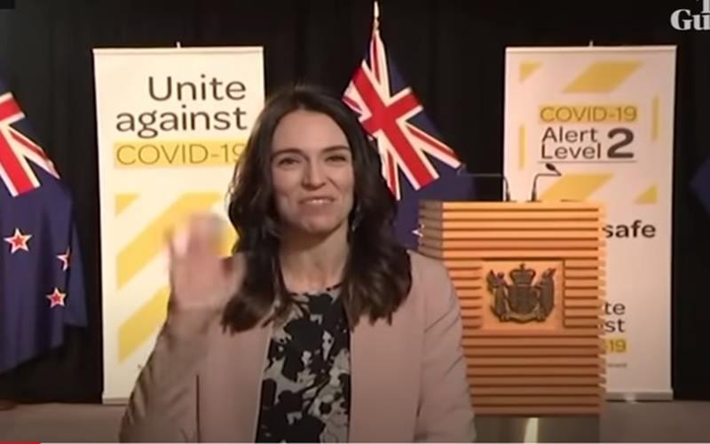 Perdana menteri Selandia Baru, Jacinda Ardern. - guardian