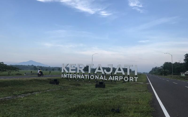 Akses menuju Bandara Kertajati - Bisnis/Hakim Baihaqi