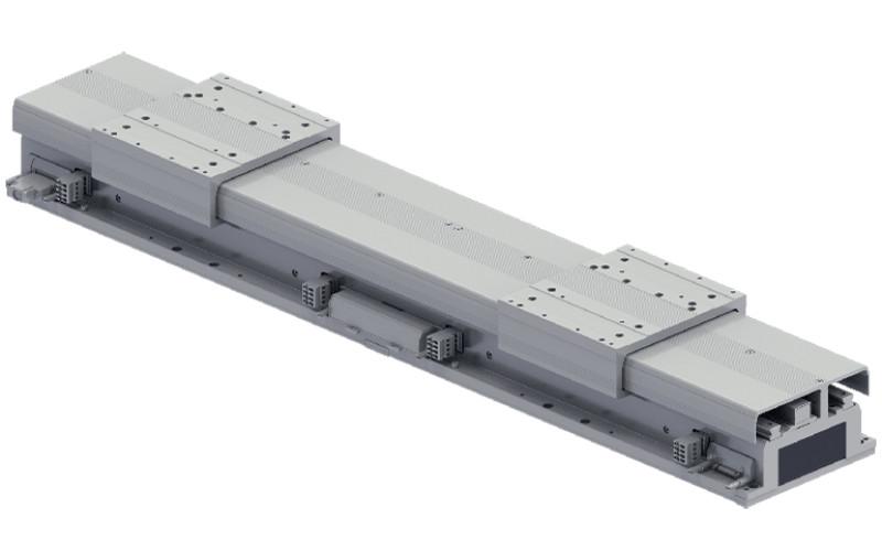 Modul konveyor linier memungkinkan penyusunan ulang jalur yang lebih mudah dan lebih fleksibel daripada konveyor sabuk konvensional dan konveyor rol, serta transfer kecepatan tinggi dan akurasi tinggi. YAMAHA