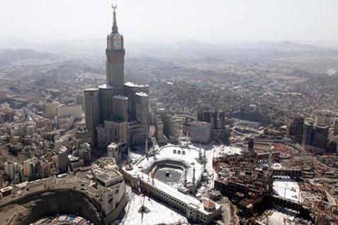 Pemerintah Arab Saudi mengumumkan akan segera merelaksasi lockdown pada pekan ini, kecuali Mekkah yang baru akan dimulai pada 21 Juni. - Reuters