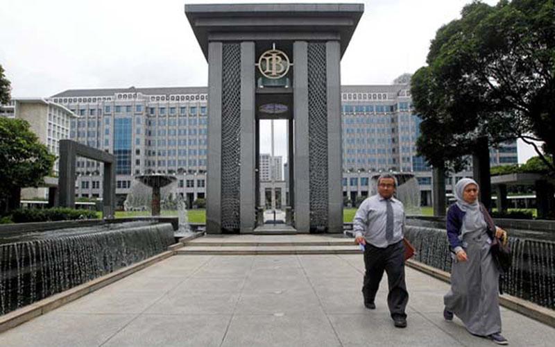 Kantor pusat Bank Indonesia di Jakarta./Reuters - Iqro Rinaldi