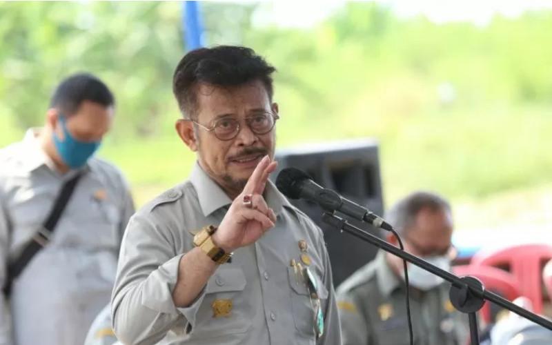 Menteri Pertanian (Mentan) Syahrul Yasin Limpo. ANTARA