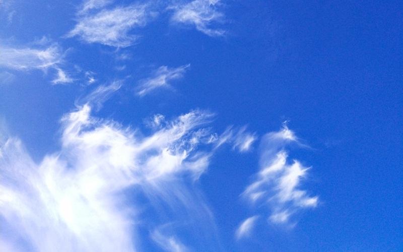 Langit cerah berawan - Bisnis/Andhika Anggoro