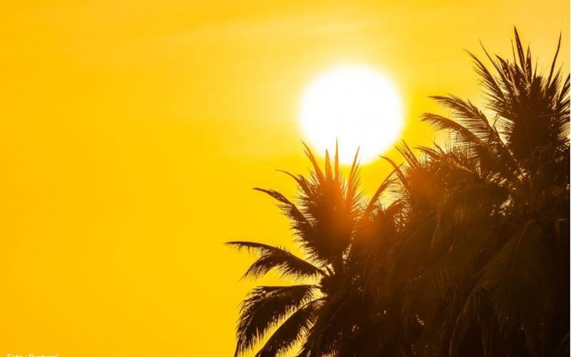 Ilustrasi cuaca panas dna gerah. - bmkg