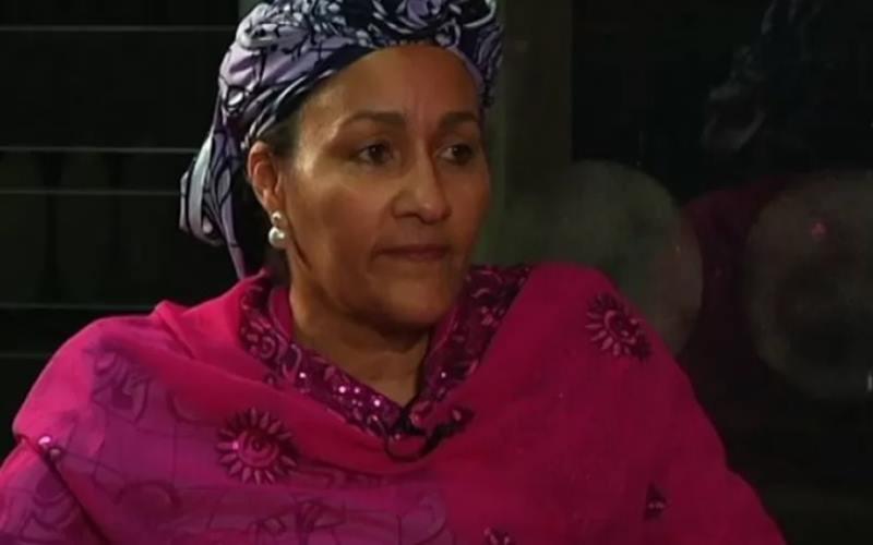Wakil Sekretaris Jenderal PBB Amina Mohammed./Antara - Reuters\n\n