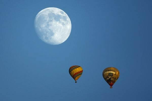 Ilustrasi-Balon udara - Istimewa