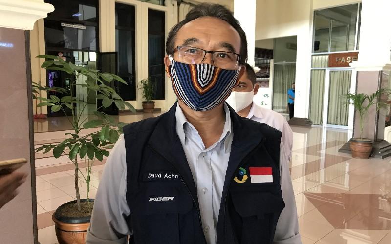 Sekretaris Gugus Tugas P2 Covid-19 Jawa Barat, Daud Achmad - Bisnis/Hakim Baihaqi