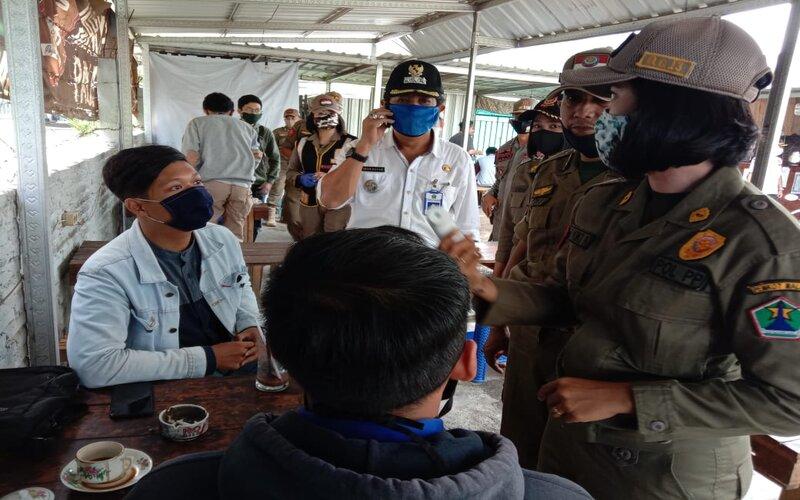 Opsgab PSBB di Kec. Lowokwaru, Rabu (27/5/2020). - Istimewa