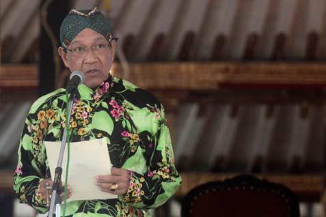 Gubernur Daerah Istimewa Yogyakarta Sri Sultan Hamengku Buwono X  - Antara