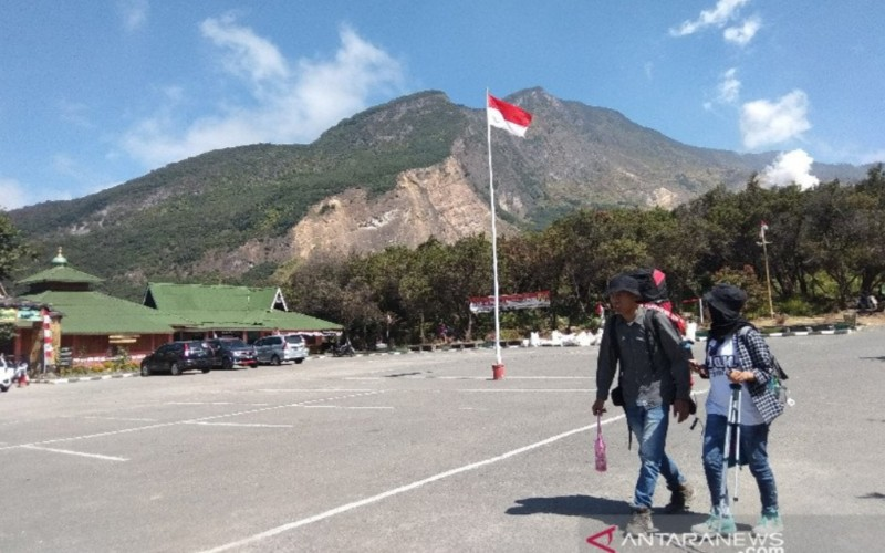 Kawasan objek wisata Gunung Papandayan, Kabupaten Garut. - Antara