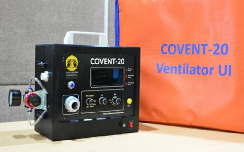 Ventilator buatan Universitas Indonesia (UI) Covent-10. - Istimewa