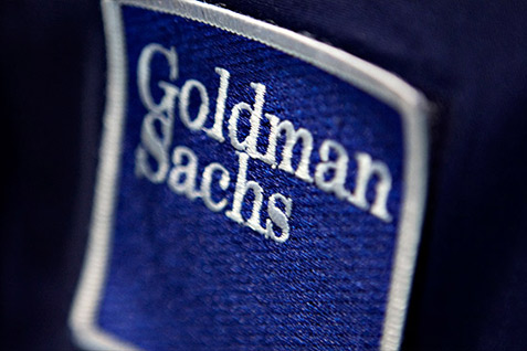Logo Goldman Sachs -  Bloomberg