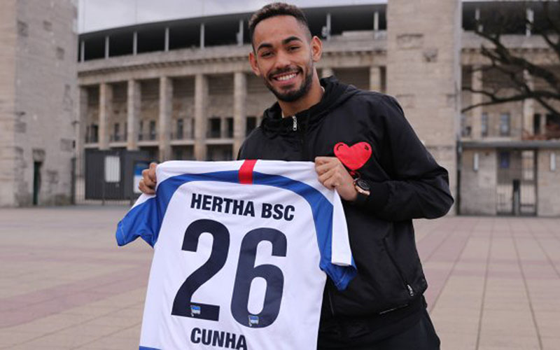 Matheus Cunha - HerthaBSC.de