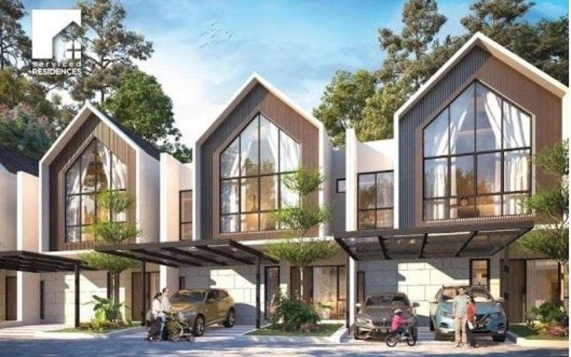 Ilustrasi desain perumahan CitraGarden Puri. Istimewa