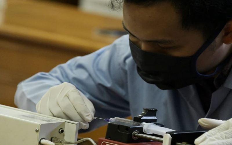 Universitas Padjajaran (Unpad) dan Institut Teknologi Bandung (ITB) berhasil menciptakan alat deteksi Covid-19 dalam bentuk mesin seperti polymerase chain reaction (PCR). - Twitter@ridwankamil