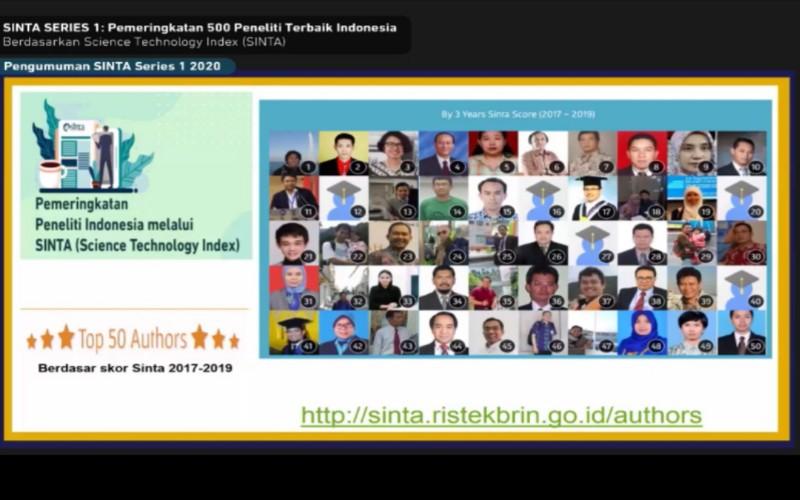 Daftar peneliti terbaik di Indonesia
