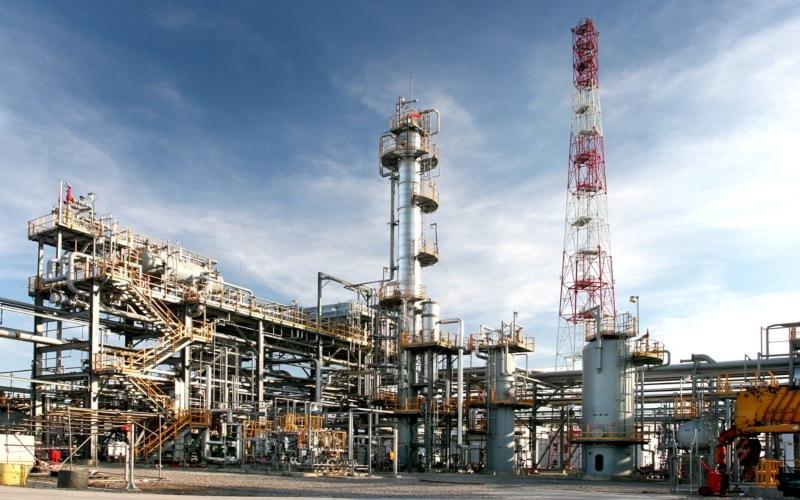 Ilustrasi: Fasilitas CPP milik Saka Energy. Istimewa - SKK Migas