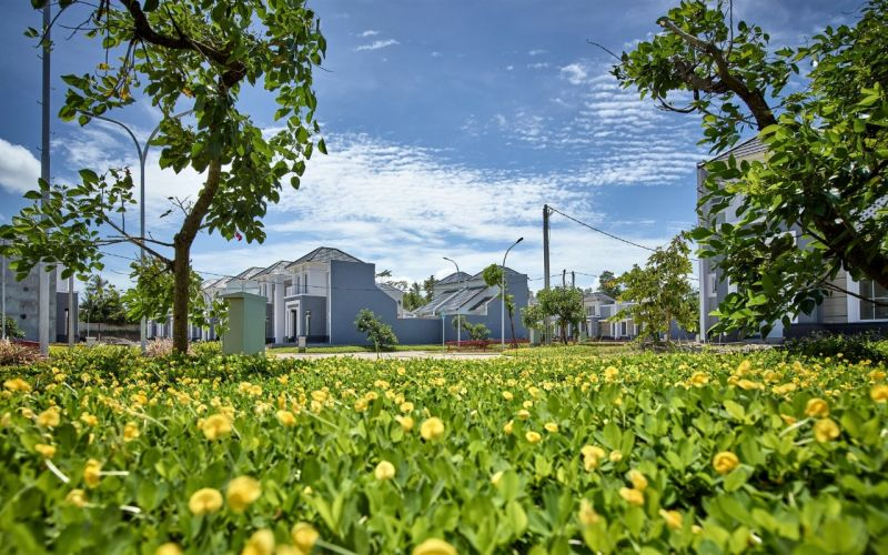 Kawasan perumahan di CitraLand Puri, Serang, Banten yang dikembangkan Grup Ciputra. - Bisnis