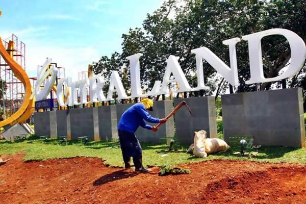 Salah satu proyek pembangunan properti Citraland. - JIBI/Dwi Prsetya