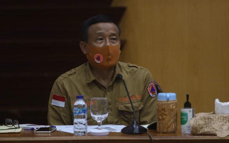 Kepala Pelaksana Badan Penanggulangan Bencana Daerah (BPBD) Jawa Timur Suban Wahyudiono. - Bisnis/Peni Widarti