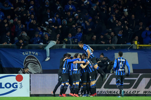 Atalanta Bergamo. - Reuters/Massimo Pinca