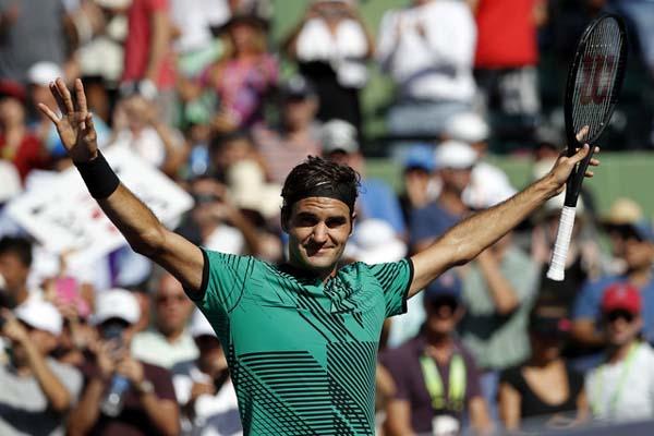 Petenis Swiss Roger Federer - Reuters