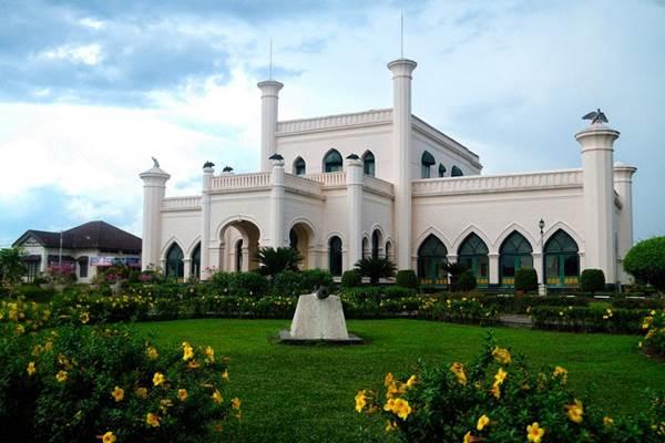 Ilustrasi-Istana Siak Sri Indrapura di Pekanbaru - Istimewa