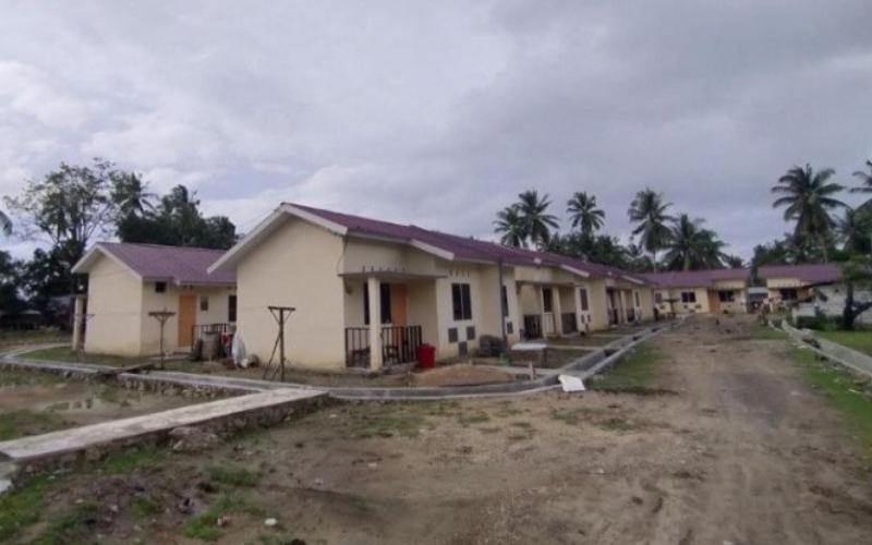Rumah khusus nelayan di Kabupaten Konawe Utara, Sulawesi Tenggara. Antara - Dok. Komunikasi Publik Ditjen Perumahan Kementerian PUPR