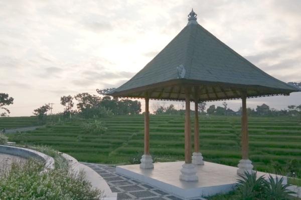Ilustrasi - Integrated Rest Area atau Anjungan Cerdas (AC) Bahari Rambut Siwi di Bali terletak di area yang pemandangan alamnya sangat asri. - Bisnis/Tim Jelajah Jawa Bali 2019