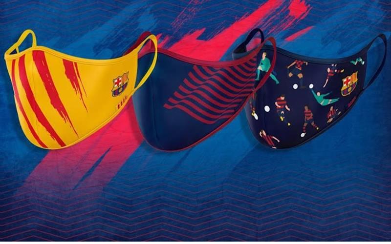 Klub Sepak Bola Barcelona luncurkan masker untuk cegah penularan Covid-19. - Istimewa