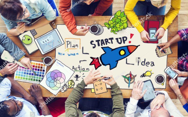 Ilustrasi startup. - Shutterstock