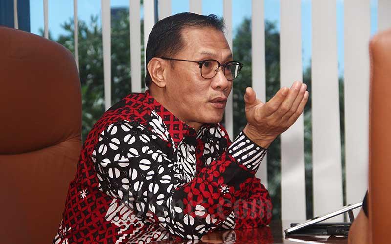 Kepala Badan Pusat Statistik (BPS) Suhariyanto. Bisnis