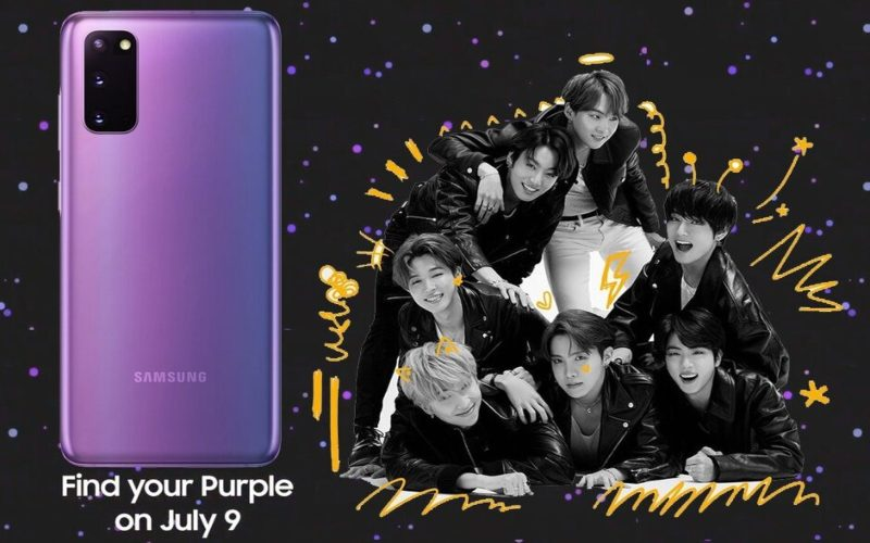 Galaxy S20 Mirror Purple. - Phonearena