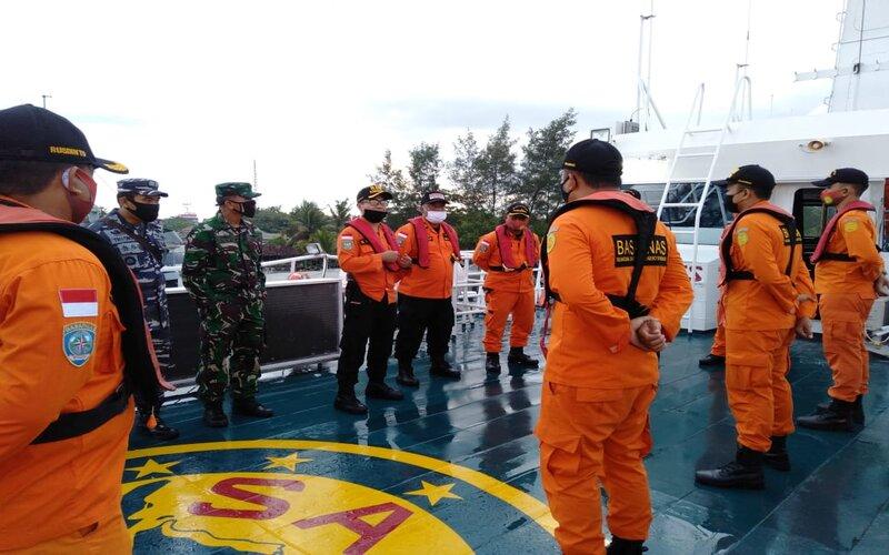 Tim SAR Bali melakukan pencarian KM Odyssey Kamis (4/6/2020). - Istimewa