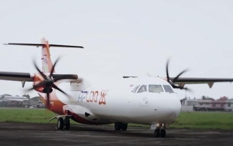 Salah satu pesawat kargo (freighter) yang digunakan untuk layanan kargo Udara dari PT Angkasa Pura Logistik. / Dok. Istimewa