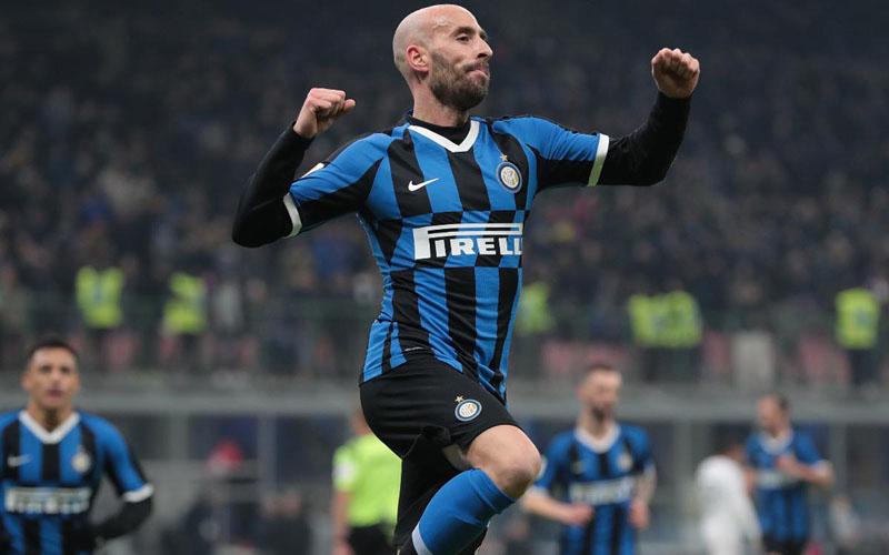 Gelandang Inter Milan Borja Valero Iglesias. - Inter.it
