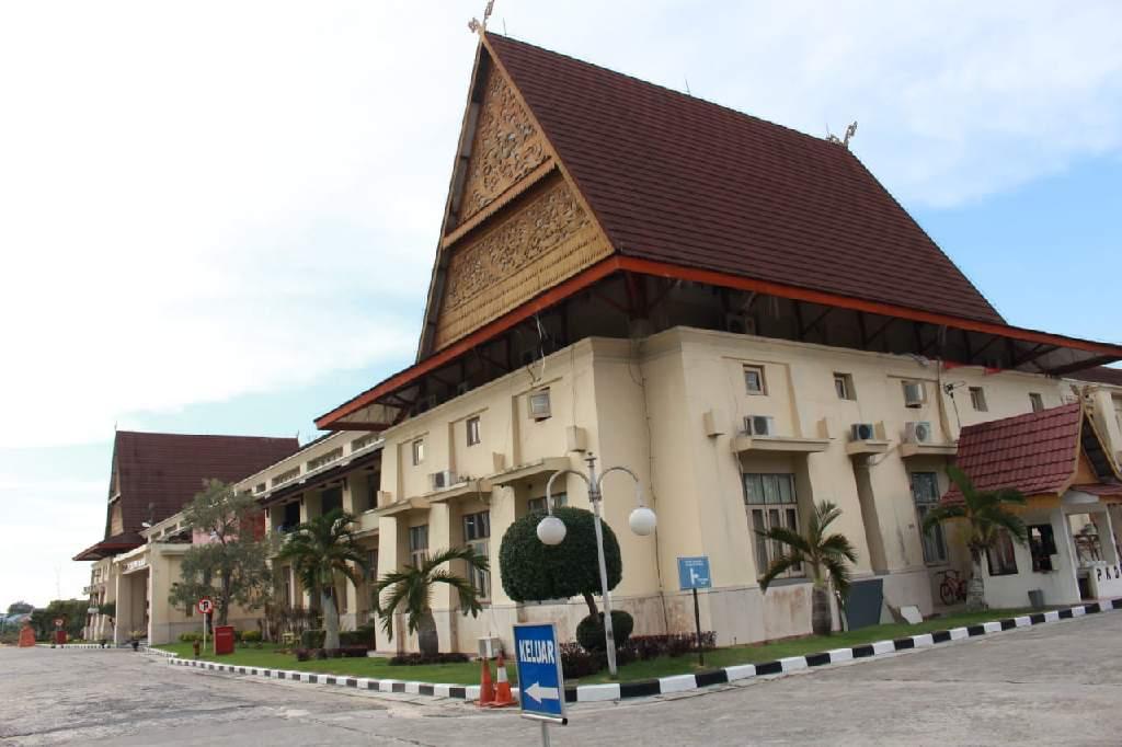 Kantor Pusat PTPN V Pekanbaru, Riau.