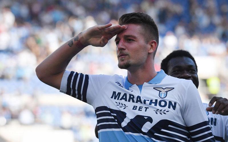 Gelandang Lazio Sergej Milinkovic-Savic - Bleacher Report