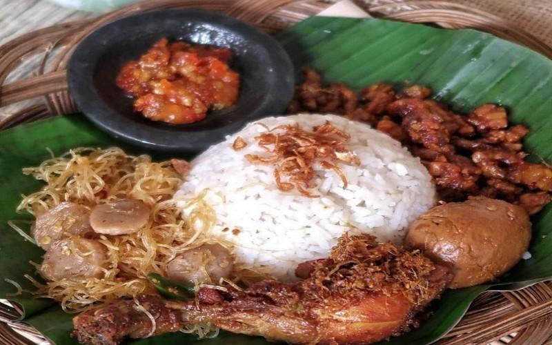 Salah satu menu Kaeng Kitchen