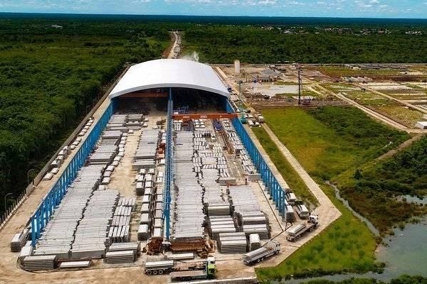 Pabrik beton milik Waskita Beton Precast di Gasing, Palembang. Pabrik ini memiliki kapasitas produksi sebesar 725.000 ton/tahun dan menjadi pemasok utama proyek Jalan Tol Kayu Agung-Palembang-Betung. - waskitaprecast.co.id