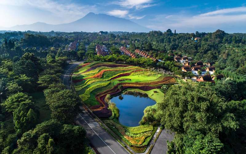 Panorama Properti Agung Podomoro Vimala Hill, Bogor. - Istimewa