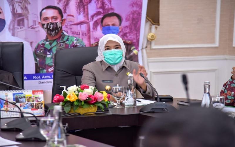 Wakil Walikota Palembang Fitrianti Agustinda. istimewa