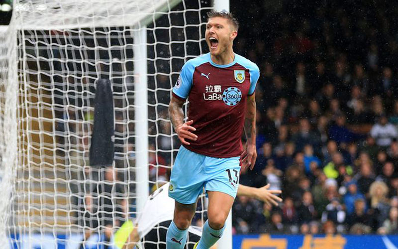 Gelandang Burnley Jeff Hendrick - Sky Sports