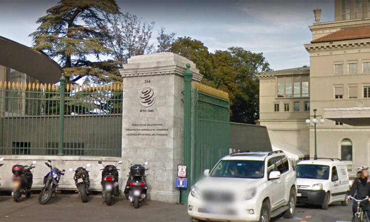 Kantor Pusat World Trade Organization (WTO) di Genewa Swiss. Foto: Google Maps