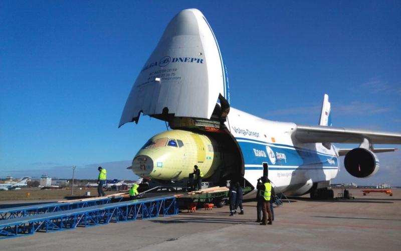 Pesawat Kargo Volga/Dnepr Group. Istimewa