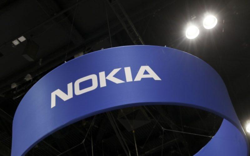 Logo Nokia di Mobile World Congress 2019 di Amerika Serikat. - Bloomberg