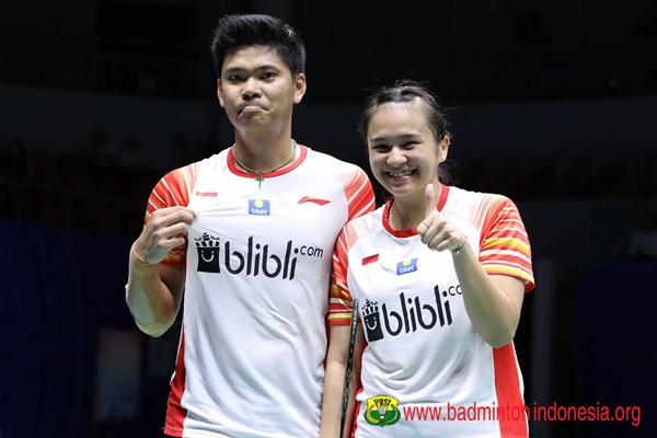 Praveen Jordan dan Melati Daeva Oktavianti - badmintonindonesia.org